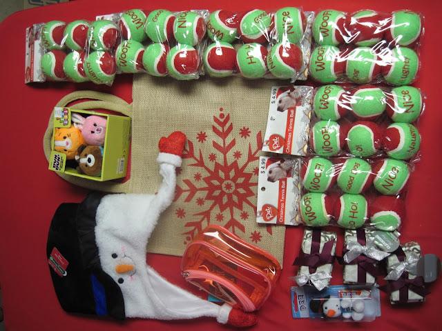 Operation Christmas Child Shoebox shopping.