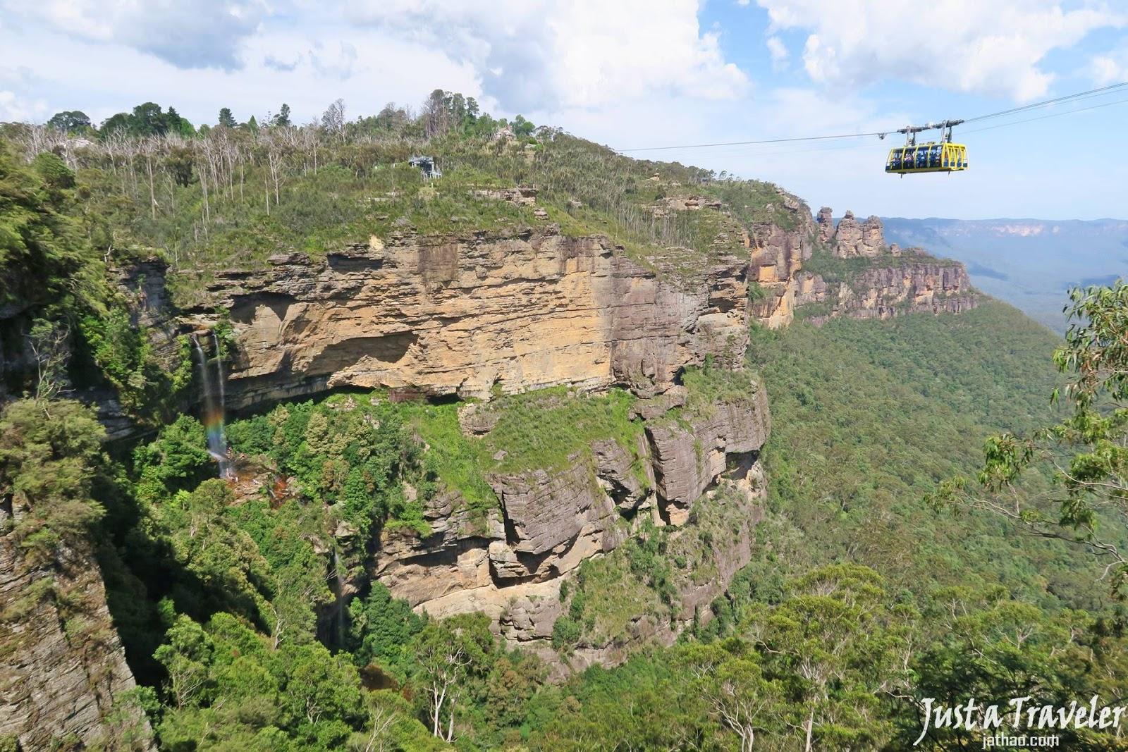 雪梨-景點-藍山-景觀世界-Skyway-澳洲-Sydney-Blue-Mountain-Scenic-World-Tourist-Attraction-Australia