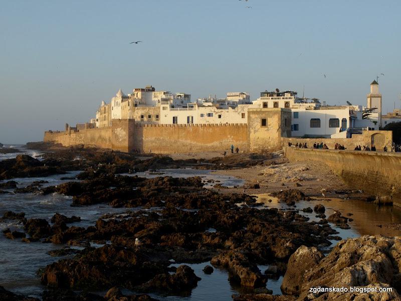Essaouira - Zachód słońca