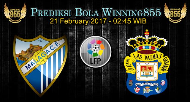 Prediksi Skor Malaga vs Las Palmas 21 February 2017