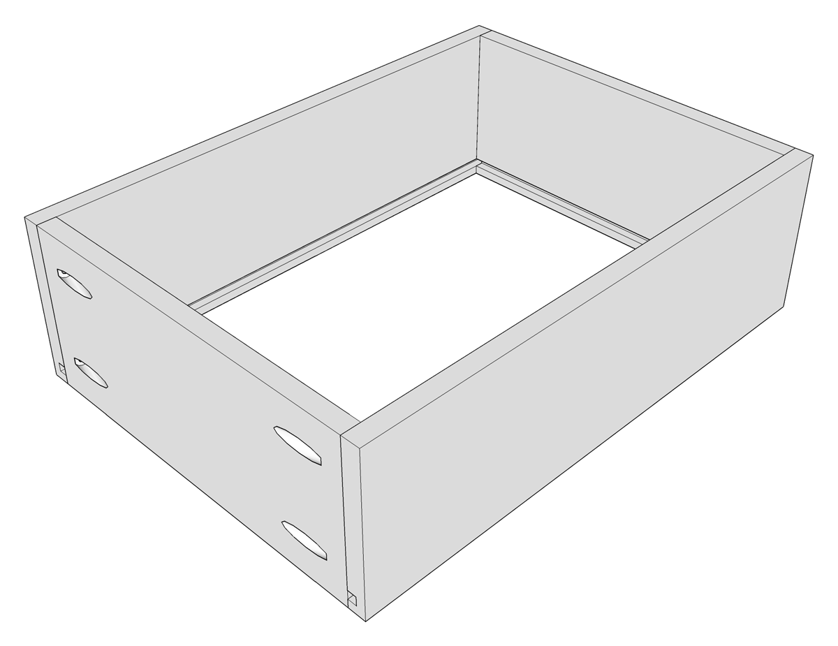 Beautiful Make Sure That The Drawer Box Dimensions Are Correct And That The Box Is  Square Before Proceeding. If Not Make Any Necessary Adjustments.