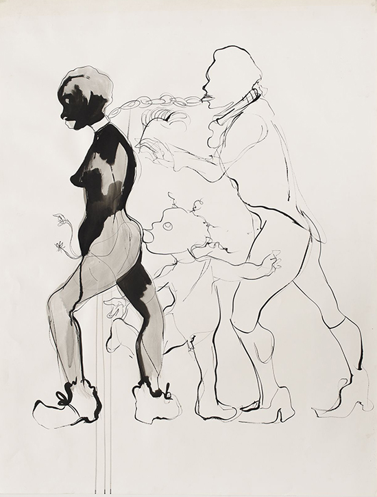 Kara Walker, drawing