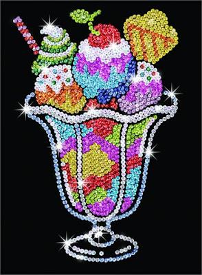 Sequin Art Ice Cream Sundae