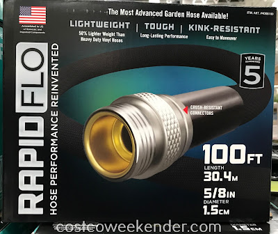 Costco 4008100 - Teknor Rapid Flo Garden Hose: less hassle and not unweildy