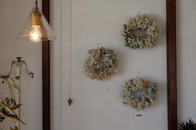 長野県安曇野穂高の植物×古道具 kokageya 植物のリース
