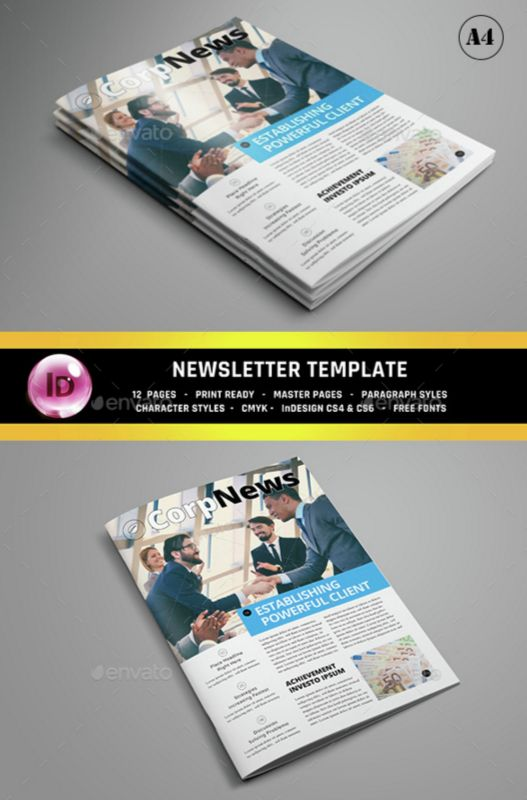 6. Corporate Newsletter
