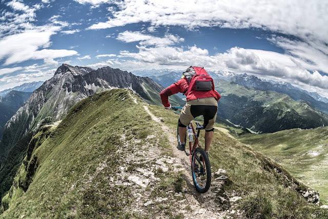 MTB Tour, Mountainbike Südtirol, Flatschspitze