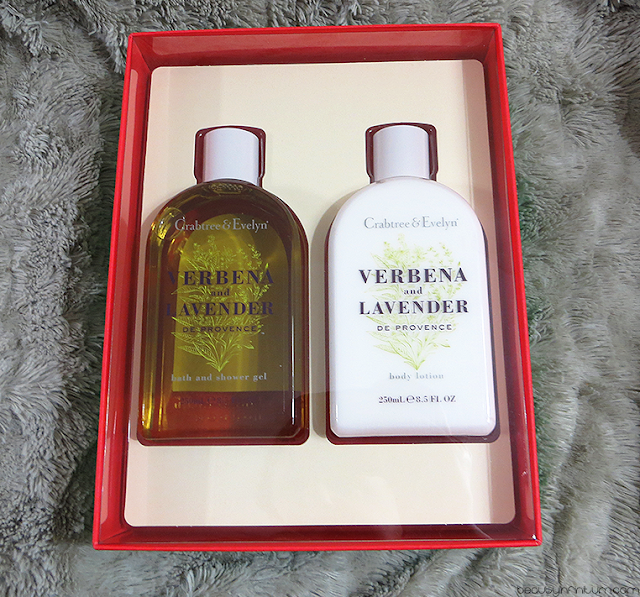 crabtree & evelyn Verbena & Lavender de Provence Bath & Body Gift