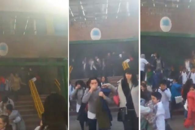 Abrazo solidario a la escuela primaria incendiada en Caballito