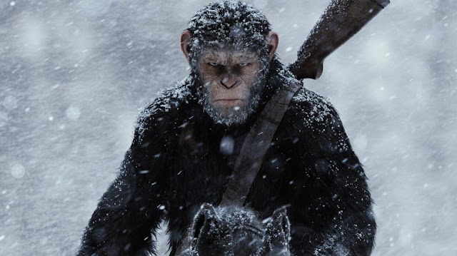 "Andy Serkis' Caesar is on a mission in ""War for the Planet of the Apes"""