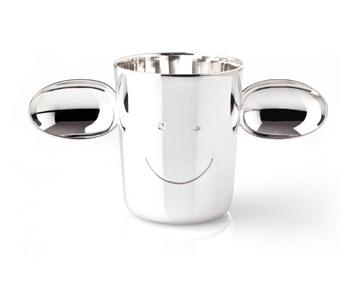 sterling silver baby cup by RICHARD and 5.5 Designers
