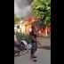 Incendio reduce a cenizas tres viviendas en Estancia del Yaque