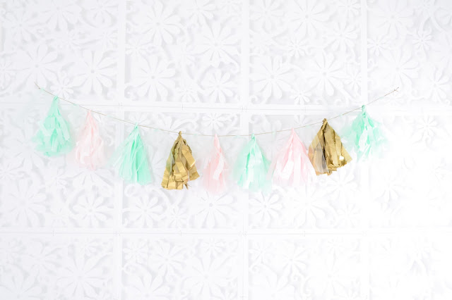 tassle garland diy photo