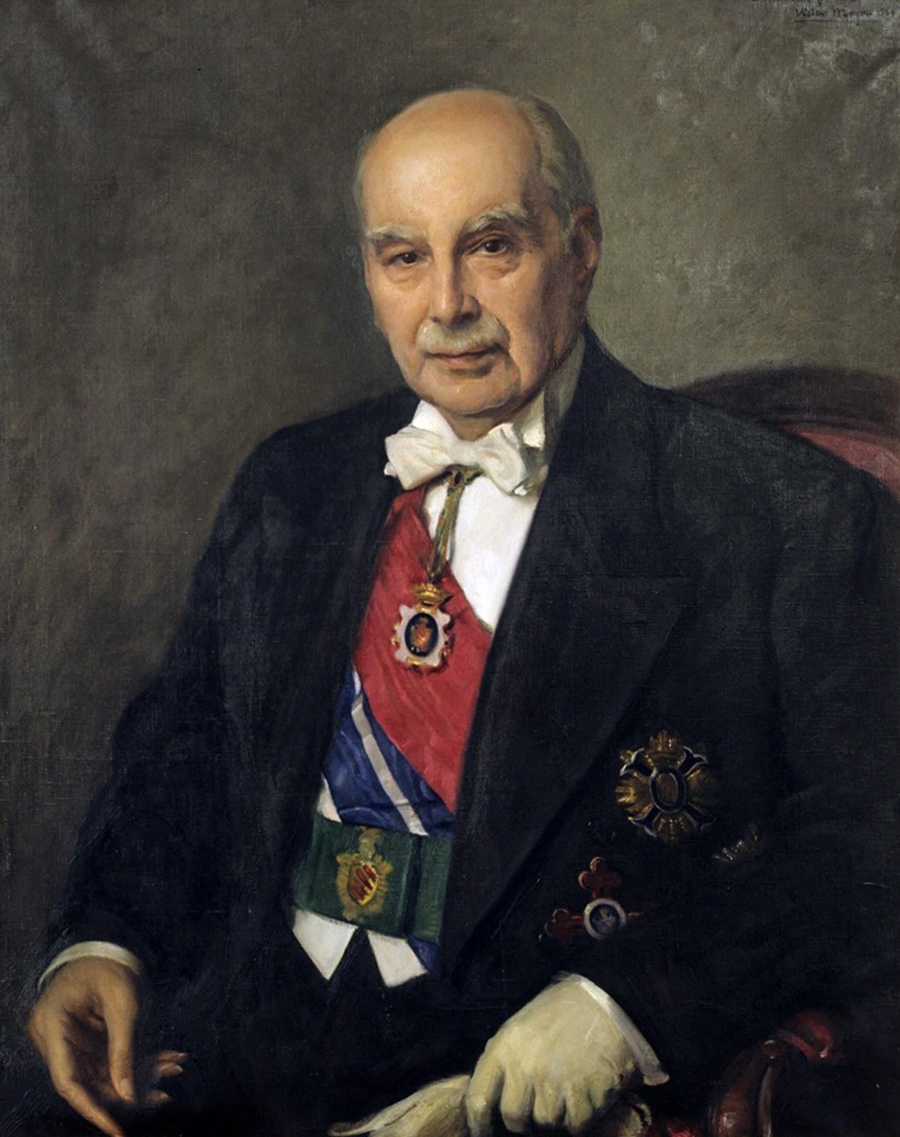 Retrato de González Martí