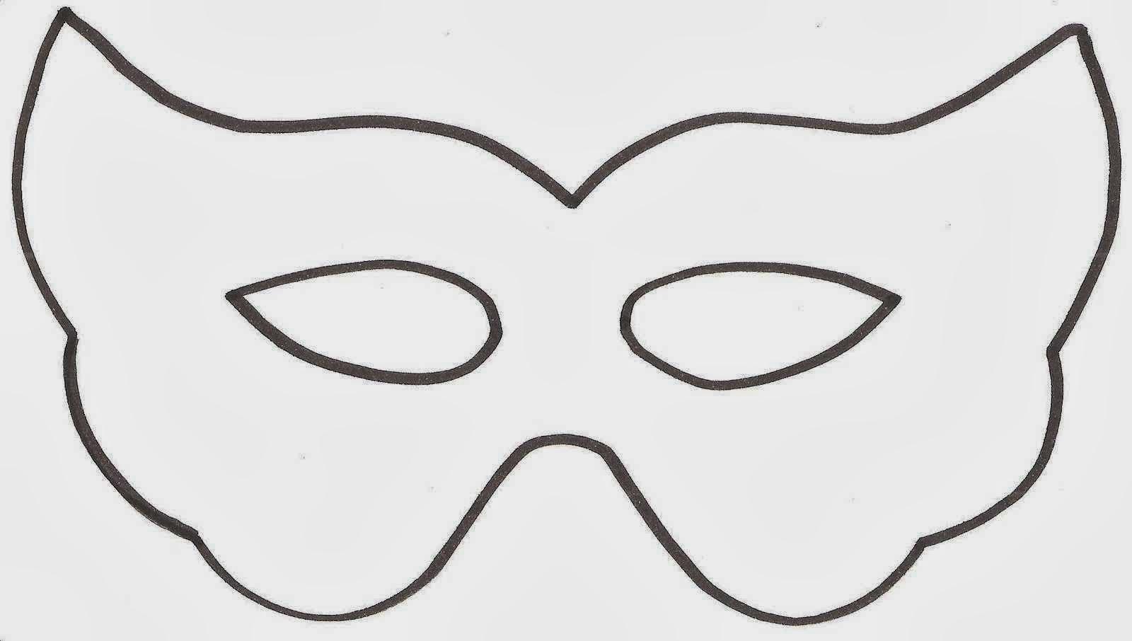 Máscaras para imprimir y colorear / Máscaras para imprimir e colorir