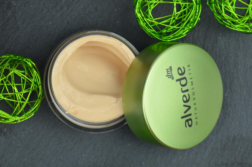 Alverde Sortiment 2017 - Gel Make-up Soft Honey