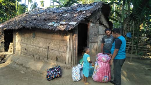 Lembaga Peduli Dhuafa bantu Masyarakat Miskin, Samudera Aceh Utara