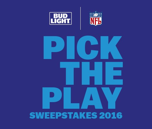 Bud Light is celebrating Football Season by giving fans in certain states a chance to win a BIG SCREEN TV and lots of instant win prizes!