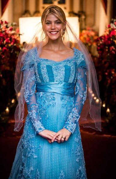 jane vestido azul de noiva