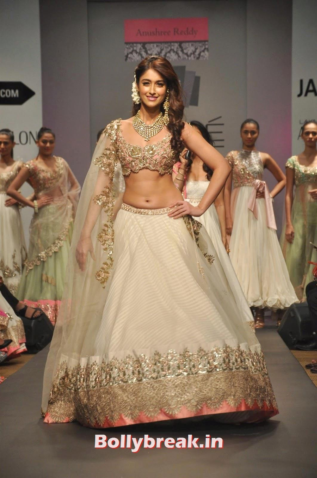 , Ileana D'Cruz at Lakme Fashion Week (LFW) 2014