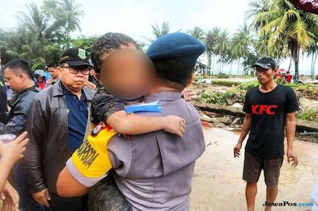Tertimpa Pohon Saat Tsunami, Bocah 5 Tahun Berhasil Dievakuasi