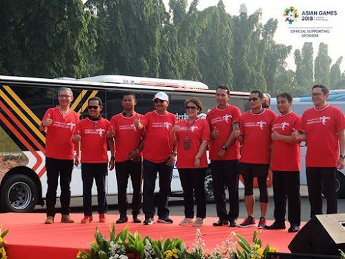 Peluncuran Bus Asian Games 2018 Kemenpar