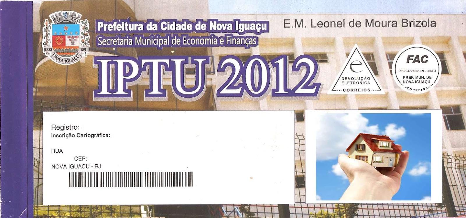 Informes Total Prefeitura De Nova Iguaçu Envia Cobranças De