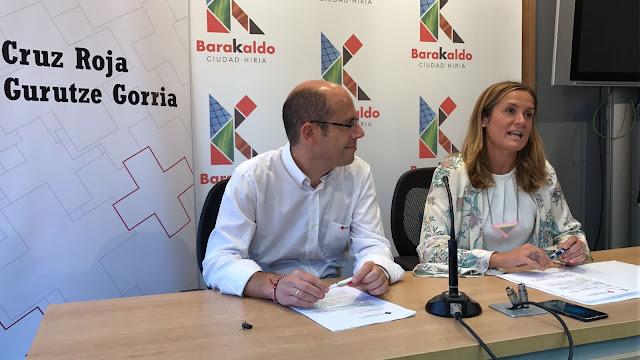 La alcaldesa anuncia la cesión de inmuebles municipales a Cruz Roja