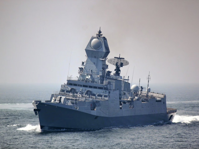 INS Kolkata - India'a Guided Missile Destroyer