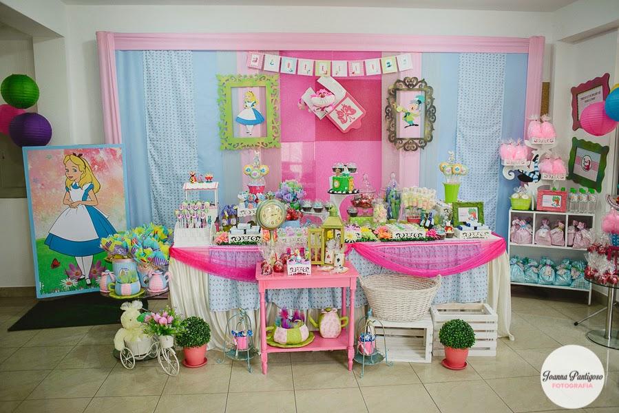 Decoraci n fiesta infantil alicia en el pa s de las - Blog de decoracion infantil ...
