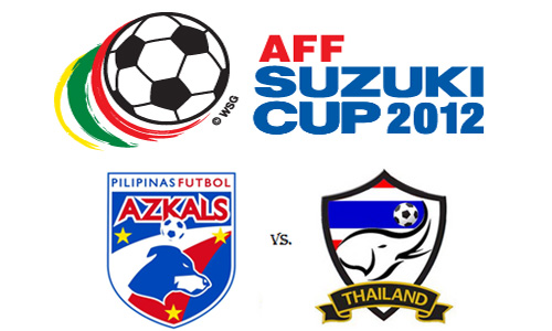 Watch Azkals vs Thailand in AFF Suzuki Cup 2012 Live Stream