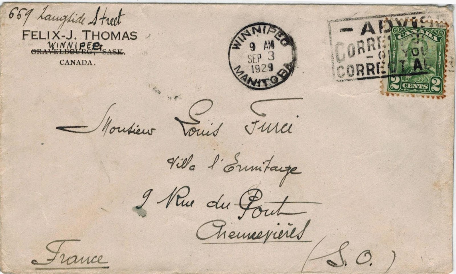 Postal History Corner 9 Reduced International Letter Rates