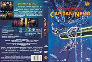 Carátula dvd: Viaje a la Atlántida del capitán Nemo