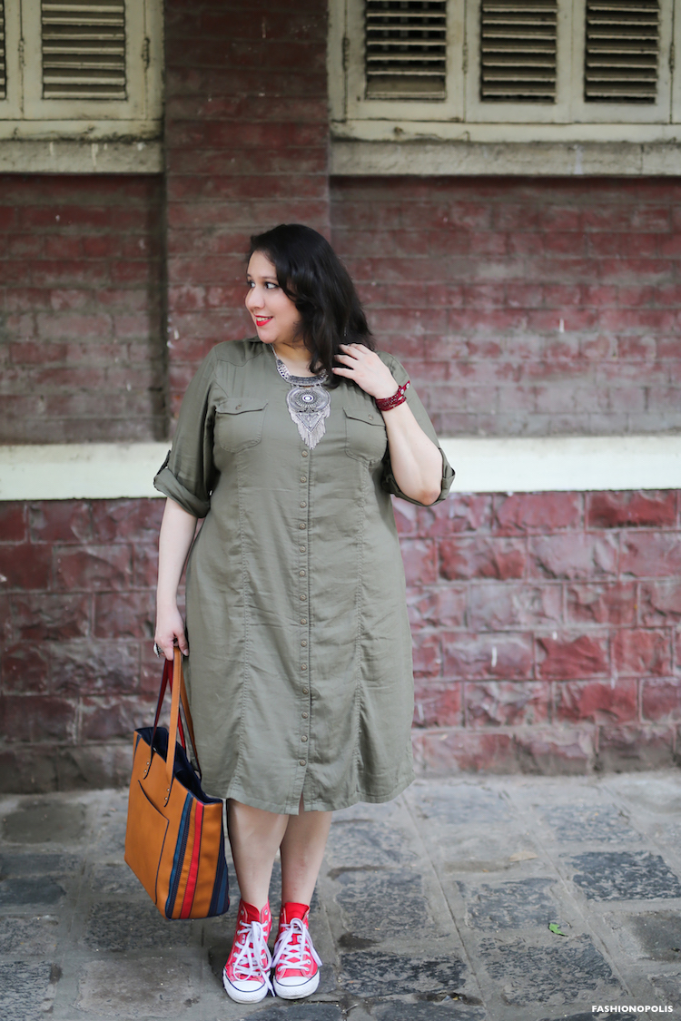 Minimalist Plus Size Look