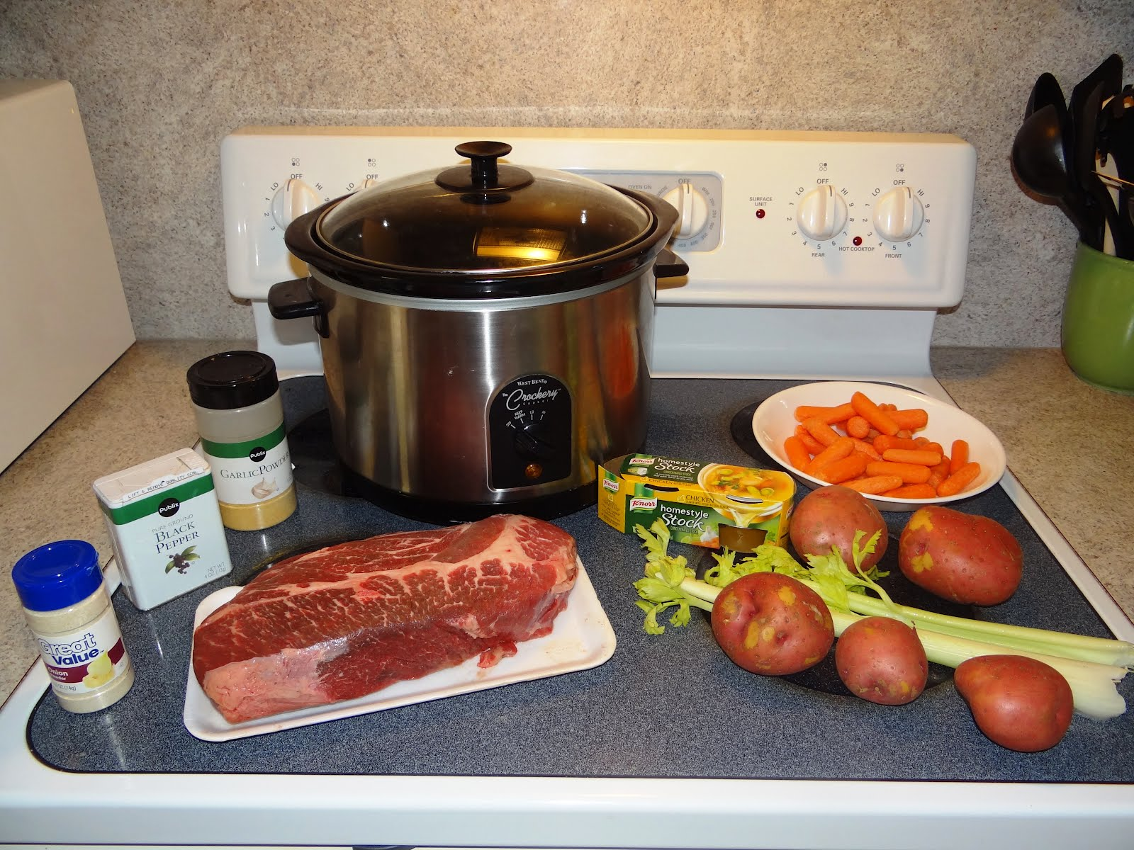 Crock Pot Chuck Roast Recipe Made With Hearty Vegetables