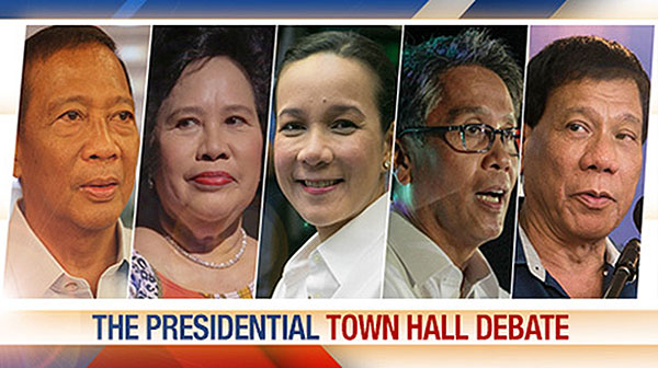 WATCH REPLAY: Final Pilipinas Presidential Debate 2016