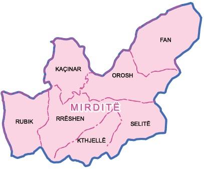 Mirdita region