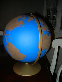 Sandpaper Globe (Photo from Making Montessori Ours)