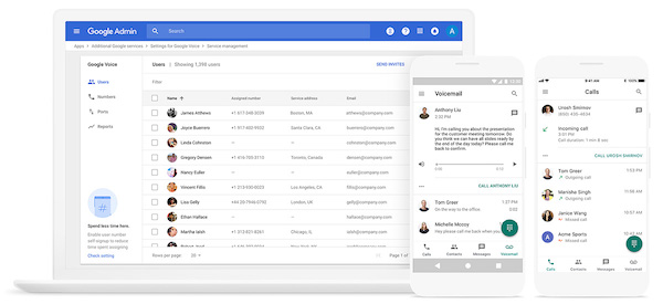 G Suite Updates Blog: Google Voice now available to G Suite