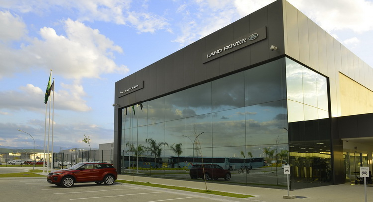 Jaguar Land Rover Opens New Factory In Brazil