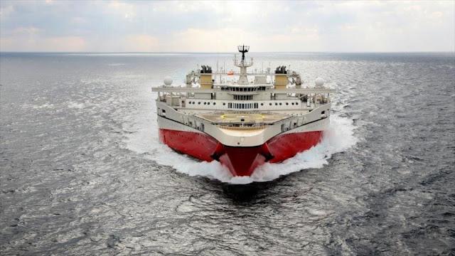La Marina de Venezuela intercepta un buque contratado por EEUU
