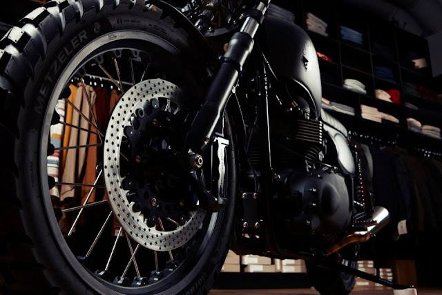 Ơ kìa! Lại là Triumph Bonneville T100 độ Scrambler