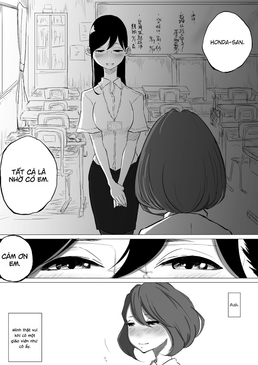 HentaiVN.net - Ảnh 34 - Tuyển tập Yuri Oneshot - Chap 145: I Went to a Lesbian Brothel and My Teacher Was There