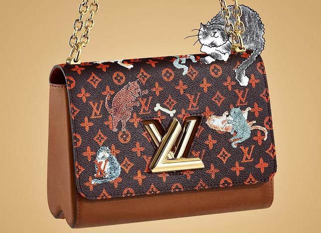 Louis Vuitton borsa twist mm Catogram
