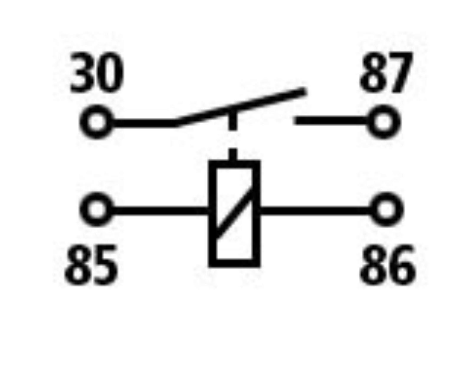 cara mudah merakit relay 4 kaki jenis normaly open