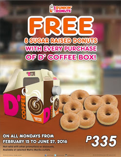 Dunkin Donuts Philippines Promo