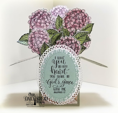 Our Daily Bread Designs Stamp/Die Duos: In My Heart, Paper Collection: Romantic Roses, Custom Dies: Surprise Box, Ornate Ovals