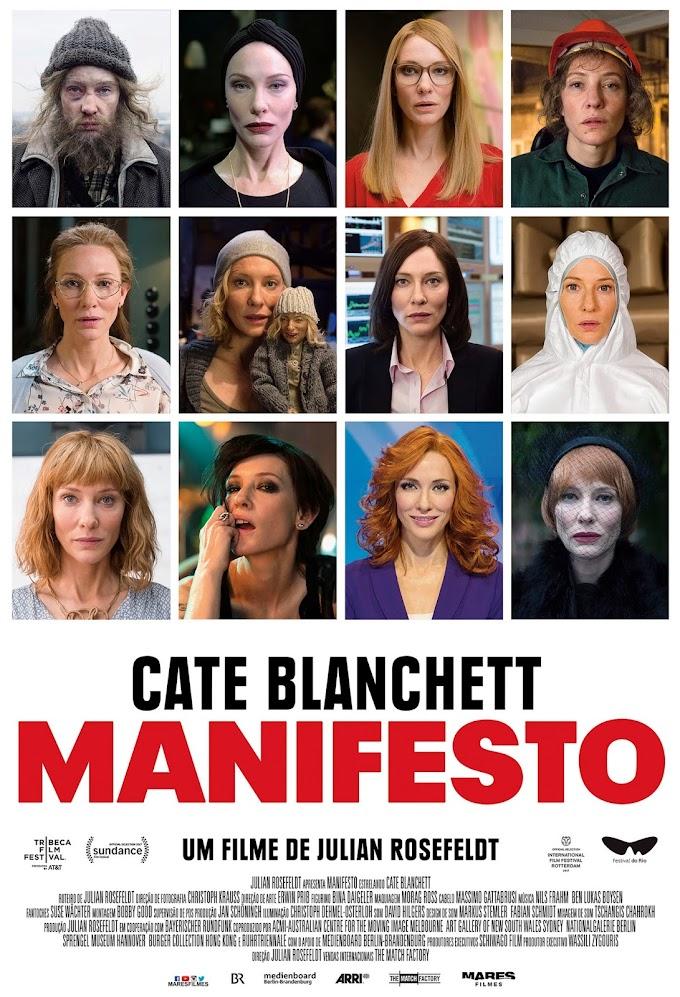 Cate Blanchett em Manifesto
