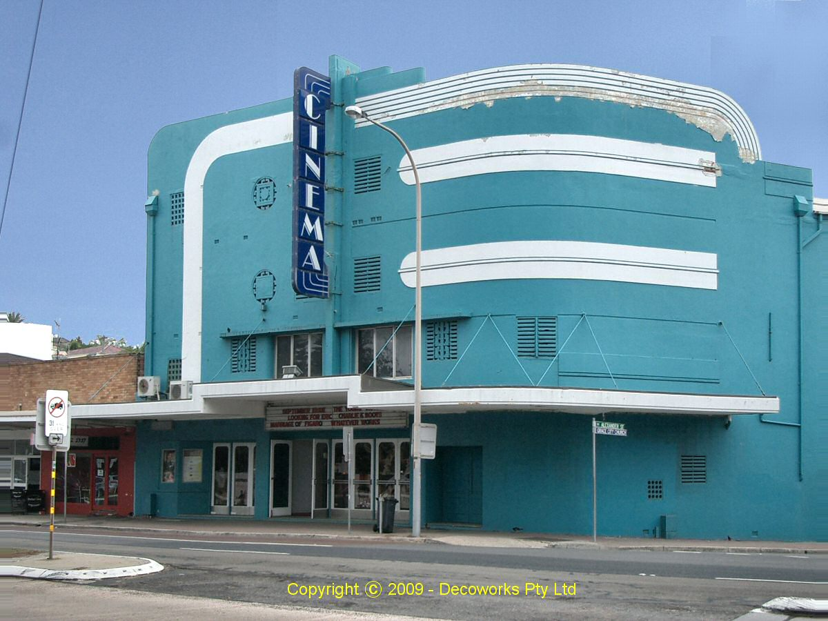 Classic American Homes Floor Plans Sydney Art Deco Heritage Collaroy Cinema