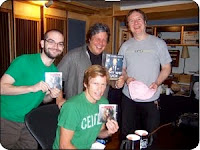 Dennis Leary voice over Threshold Recording Studios NYC